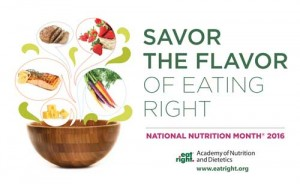 National Nutrition Month Savannah GA