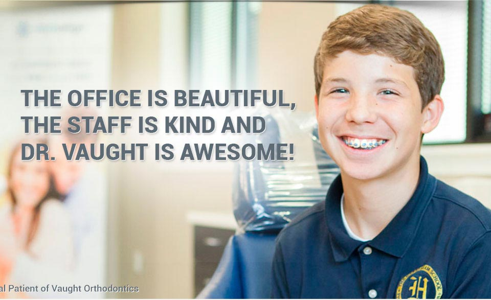 Patient Vaught Orthodontics Savannah Richmond Hill GA