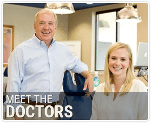 Meet the Doctors button Vaught Orthodontics Savannah GA